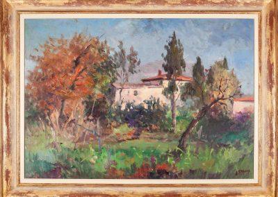 Villa antica nella natura